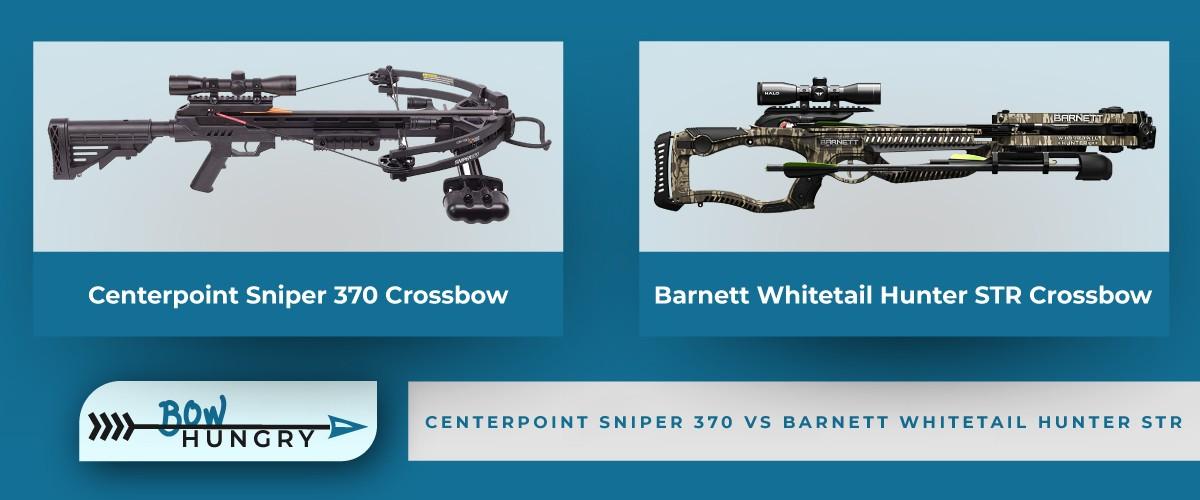 Centerpoint-Sniper-370-vs-Barnett-Whitetail-Hunter-STR