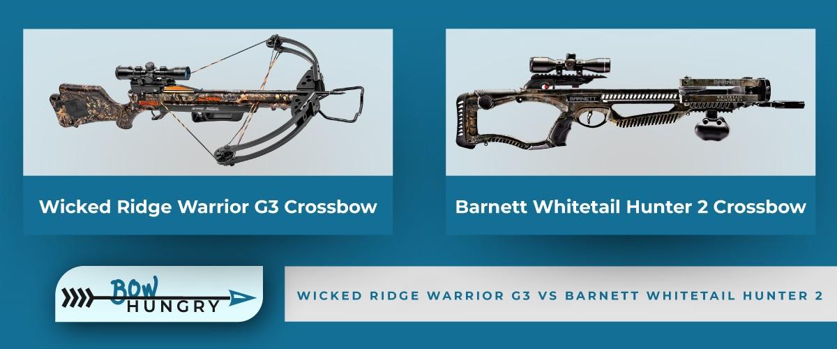 Wicked-Ridge-Warrior-G3-vs-Barnett-Whitetail-Hunter-2