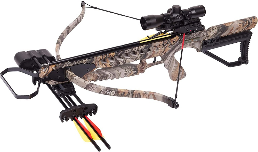 CenterPoint-Tyro-4X-Recurve-Crossbow-Package